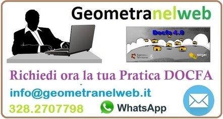 Variazione Catastale Docfa Preventivo Geometra Online